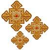 Кресты ручной вышивки №Д115