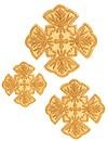 Кресты ручной вышивки №Д162