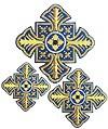 Кресты ручной вышивки №Д173