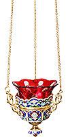Лампада подвесная ювелирная №30