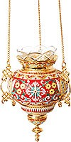 Подвесная ювелирная лампада №40