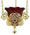 Лампада подвесная ювелирная - А405
