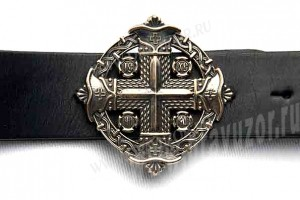 Пояс мужской - Мальтийский крест