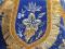 """Набор вышитых покровцов с воздухом """"Хризантемы"""" (боковина, деталь, бархат)"""
