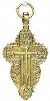 Православный нательный крест №7