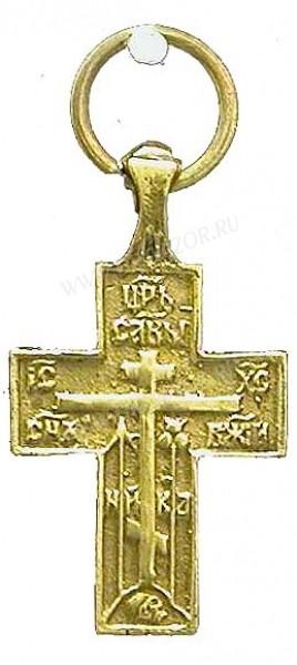 Православный нательный крест №21