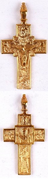 Православный нательный крест №57