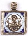 Православный нательный образок: №173
