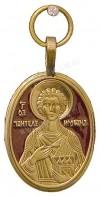 Православный нательный образок: Св. великомученик и целитель Пантелеимон