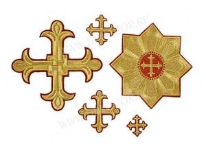 """Вышитые кресты """"Халкидонские"""""""
