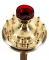 Подсвечник напольный - 72 (18 свечей) (верх)