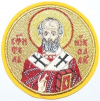 Вышитая икона Свт. Николай Чудотворец
