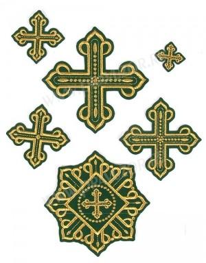 """Набор вышитых крестов """"Ровно"""""""