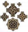 """Набор вышитых крестов """"Ковель"""""""