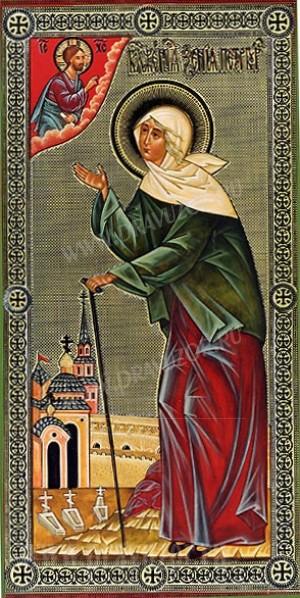 Икона: Св. блаженная Ксения Петербургская