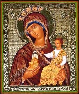 """Икона: образ Пресвятой Богородицы """"Тучная Гора"""""""
