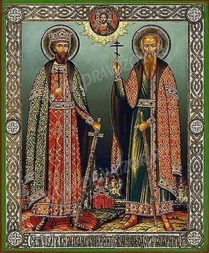 Икона: Свв. мученики благоверный князь Михаил Черниговский и боярин Феодор
