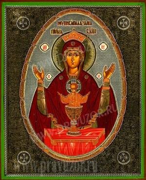 """Икона: образ Пресвятой Богородицы  """"Неупиваемая Чаша"""" - 3"""