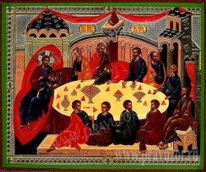 Икона: Св. Вечеря Господня тайная