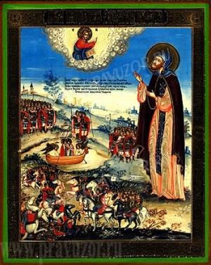 Икона: Св. благоверный князь Александр Невский - 3