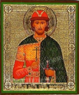 Икона: Св. благоверный князь Борис - 2