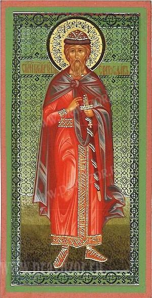 Икона: Св. благоверный князь Святослав