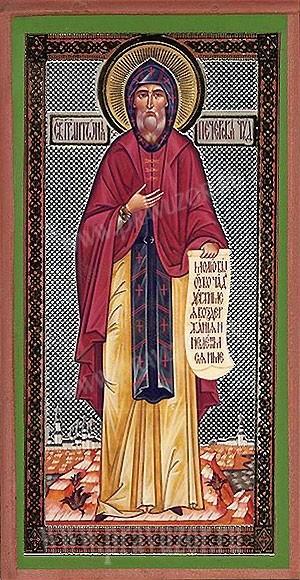 Икона: Св. праведный Антоний Печерский чудотворец