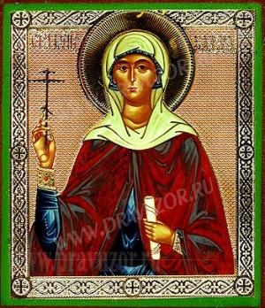 Икона: Святая мученица Клавдия