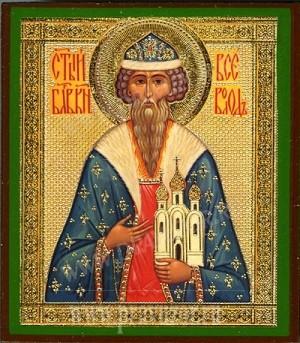 Икона: Святой благоверный князь Всеволод