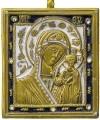 Образ на металле:Икона Пресв. Богородицы Казанская -3