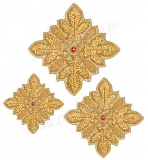 Кресты ручной вышивки №Д100