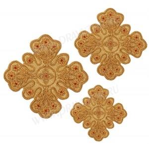 Кресты ручной вышивки №Д116