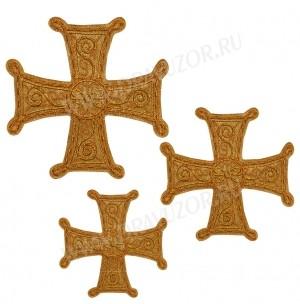 Кресты ручной вышивки №Д128