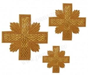 Кресты ручной вышивки №Д135