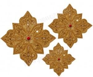 Кресты ручной вышивки №Д137