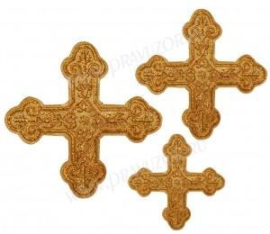 Кресты ручной вышивки №Д139