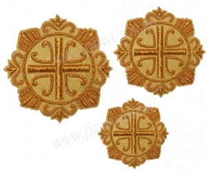 Кресты ручной вышивки №Д143