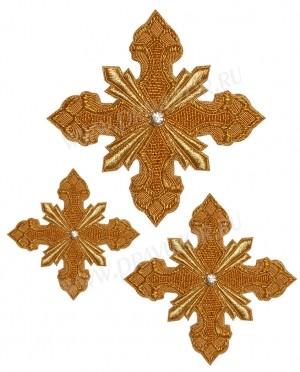 Кресты ручной вышивки №Д154