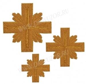 Кресты ручной вышивки №Д158