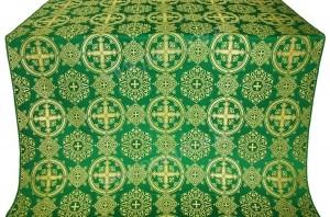 "Шёлк ""Карпаты"" (зелёный/золото)"