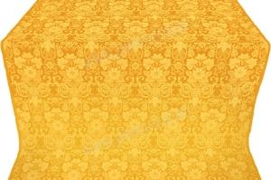 """Шёлк """"Глоксиния"""" (жёлтый/золото)"""