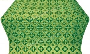 """Парча """"Иерусалим"""" (зелёная/золото)"""