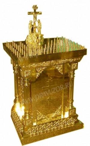 Панихидный стол - 1 (на 60 свечей)