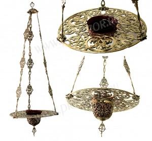 Лампада с тарелью большая