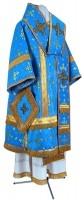 Архиерейское облачение из парчи ПГ1 (синий/золото)
