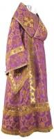 Архиерейское облачение из шёлка Ш3 (фиолетовый/золото)