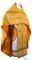 """Русское архиерейское облачение - парча П """"Канон"""" (жёлтое-золото), обиходные кресты"""