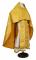 """Русское архиерейское облачение - парча П """"Новая корона"""" (жёлтое-золото), обиходная отделка"""