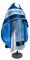 """Русское архиерейское облачение - парча ПГ1 """"Феофания"""" (синее-серебро) с бархатными вставками, обиходная отделка"""