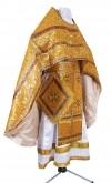Иерейское русское облачение из парчи ПГ1 (жёлтый/золото)